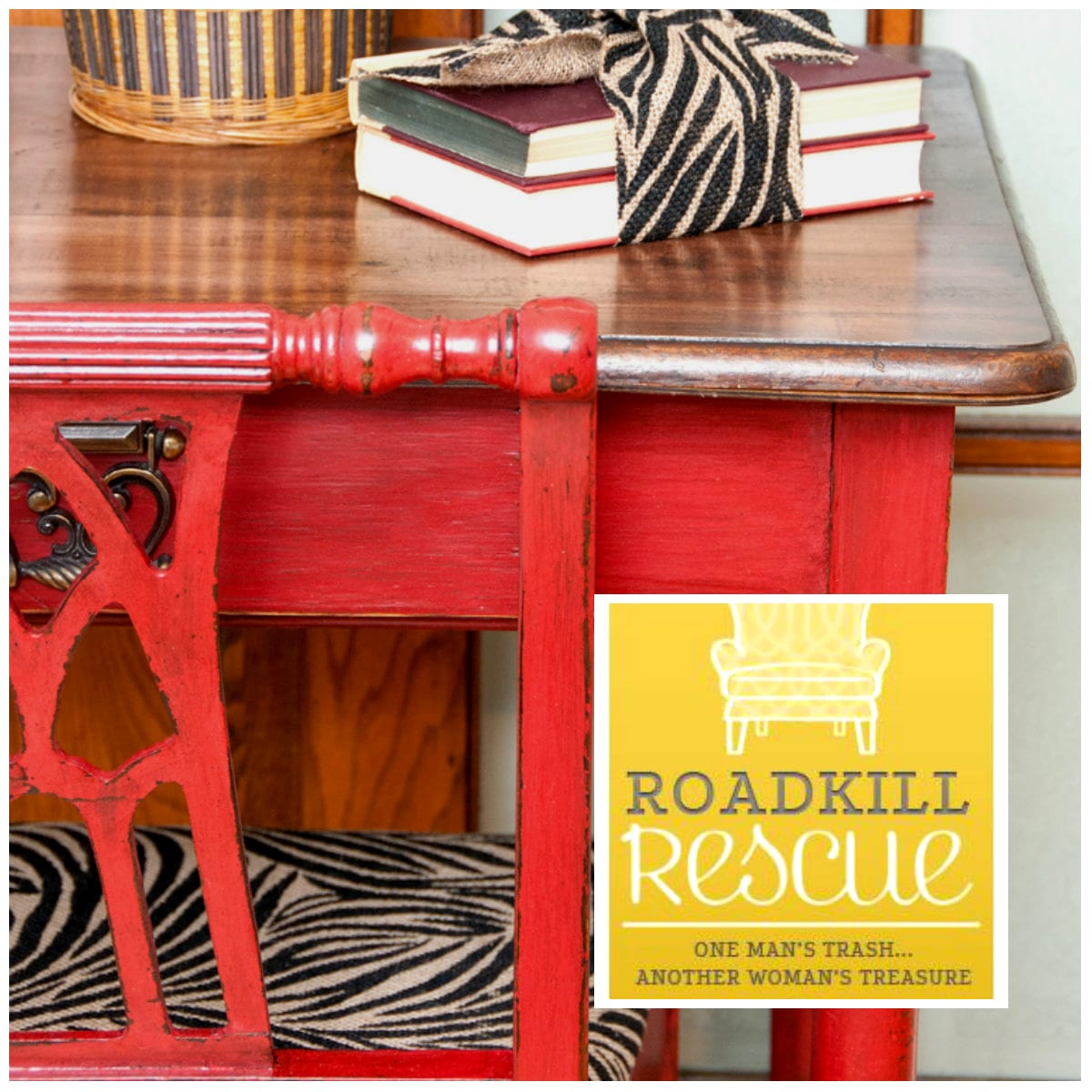 Desk Featured on Roadkill Rescue