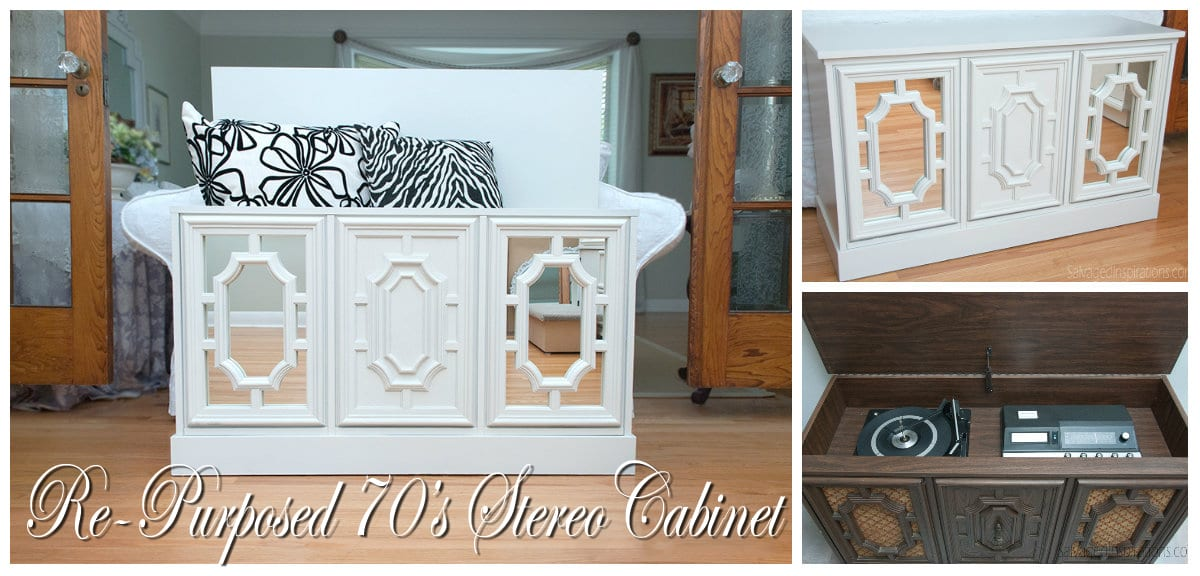 A Re-Purposed 70's Stereo Cabinet & Sweet's Ballroom Blitz