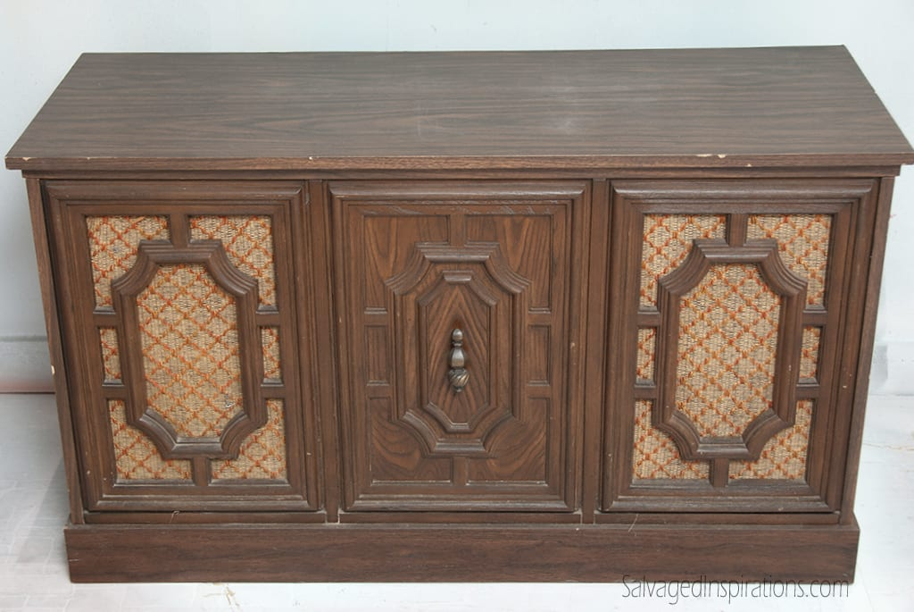 A Re Purposed 70 S Stereo Cabinet Sweet S Ballroom Blitz