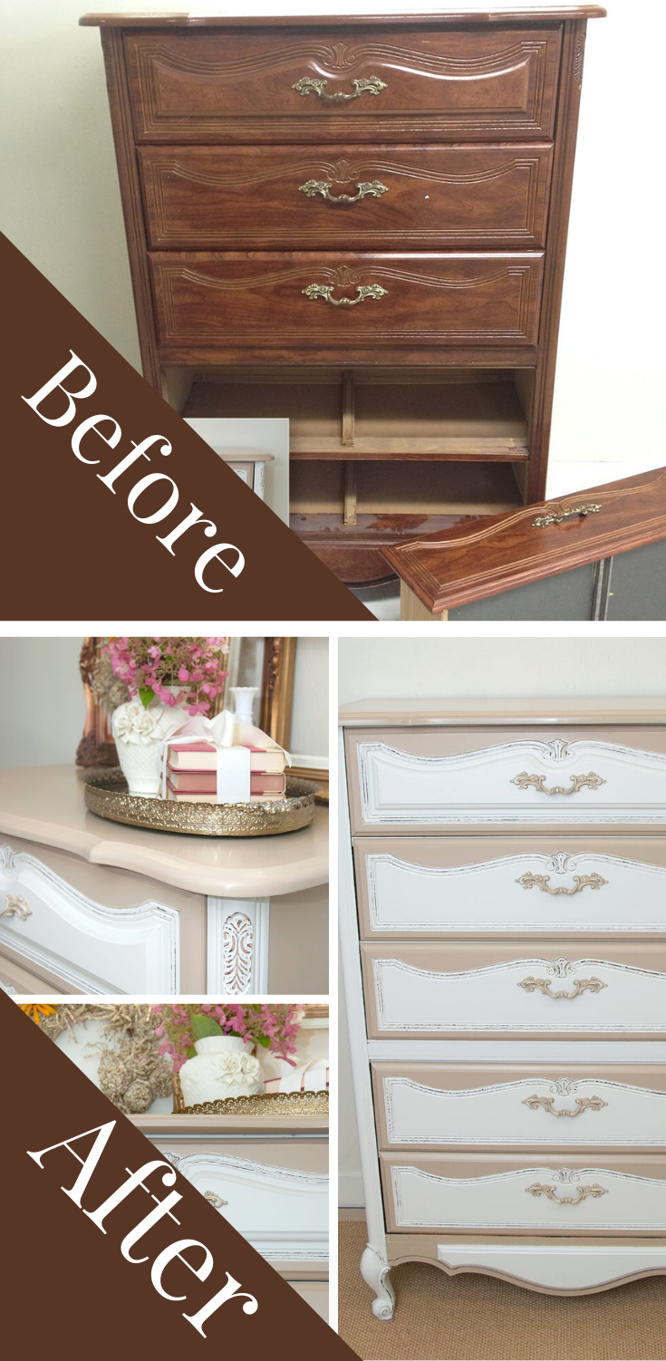 Before and Afters Laminate Dresser