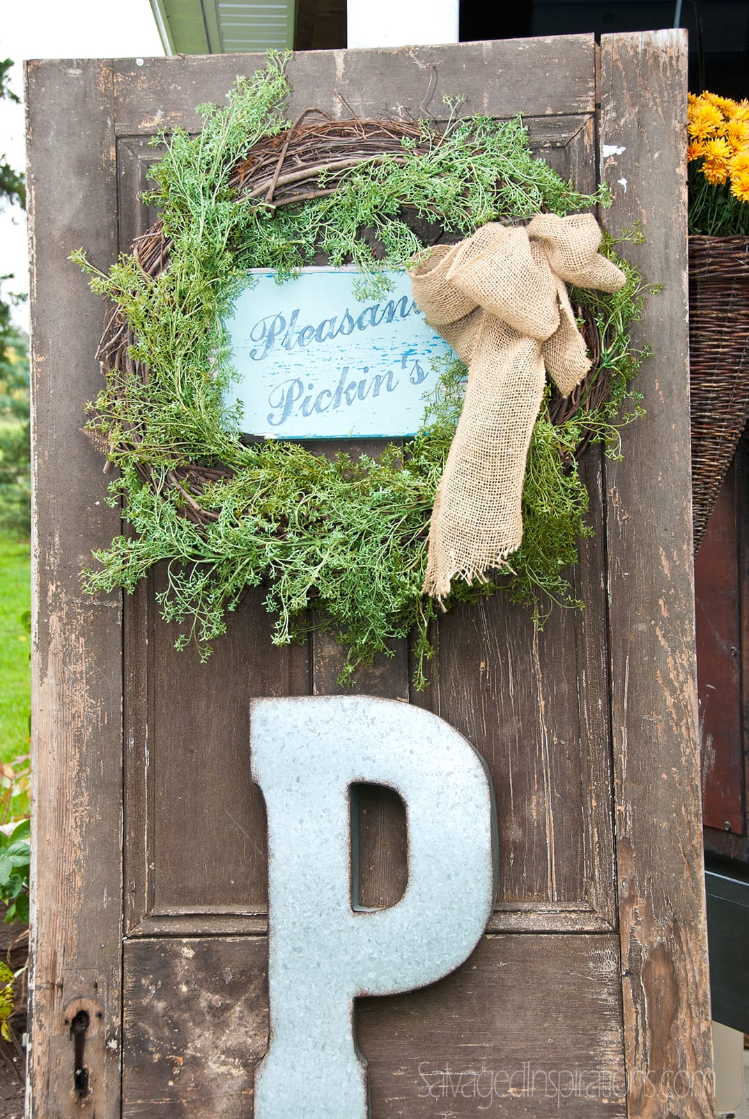 Pleasant-Pickins-Door