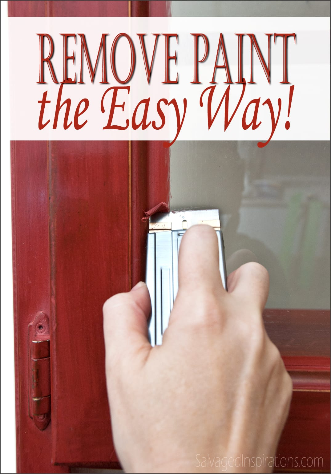 Quick-Tip-Tuesday: How To Remove Paint From Glass… The Fast and Easy Way