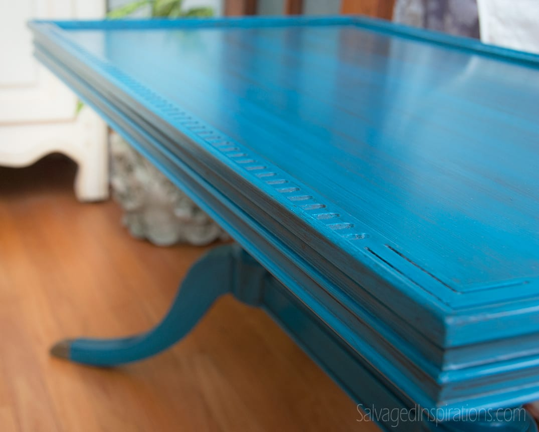 Deilcraft-Table---Turquoise-Glazed