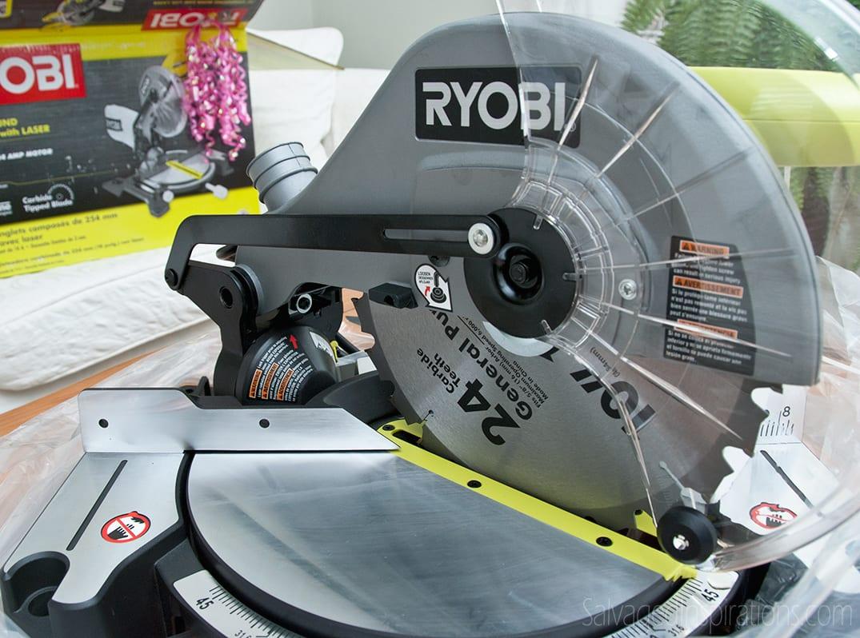 """Ryobi 10"""" Compound Miter Saw"""
