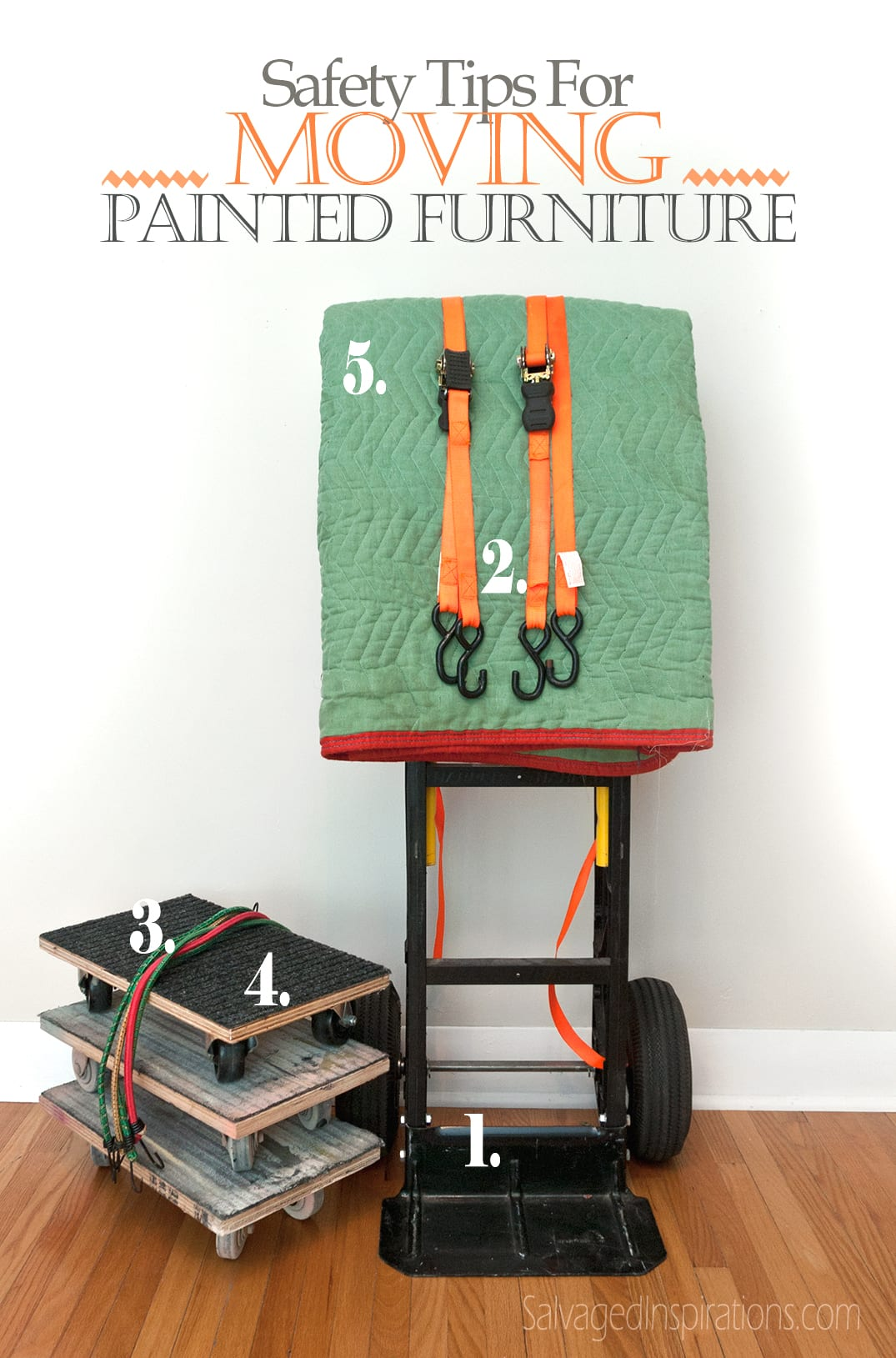 Quick-Tip-Tuesday:  My 10 'Must Have' Tips For Moving Painted Furniture…Safely!