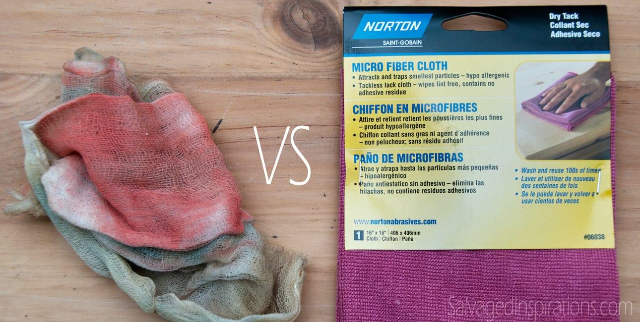 Quick-Tip-Tuesday: Traditional Tack Cloth vs Micro Fiber Tack Cloth