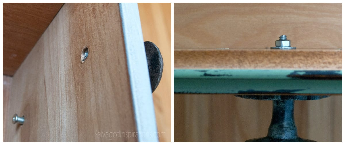 Fitted Drawer Hardware Screws