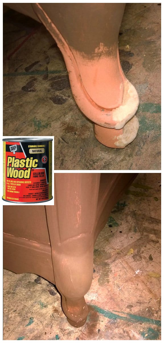 Quick-Tip-Tuesday ~ Missing Chunks? Plastic Wood to the Rescue!