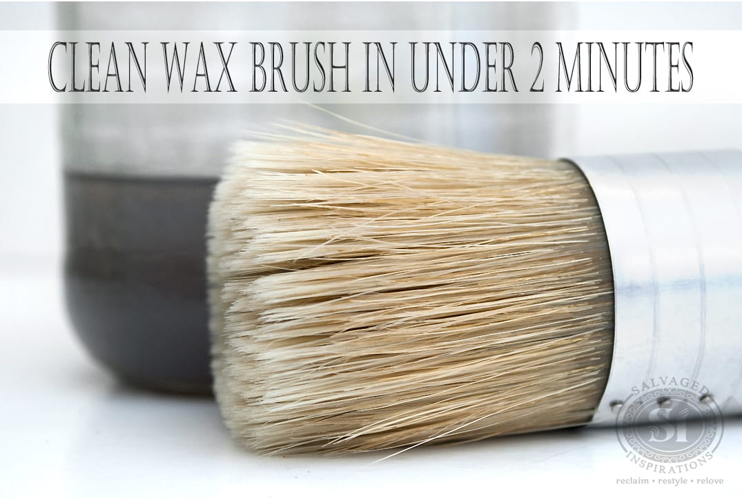 Quick-Tip-Tuesday~How To Clean Your Wax Brush In Under 2