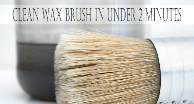 Quick-Tip-Tuesday~How To Clean Your Wax Brush In Under 2 Minutes