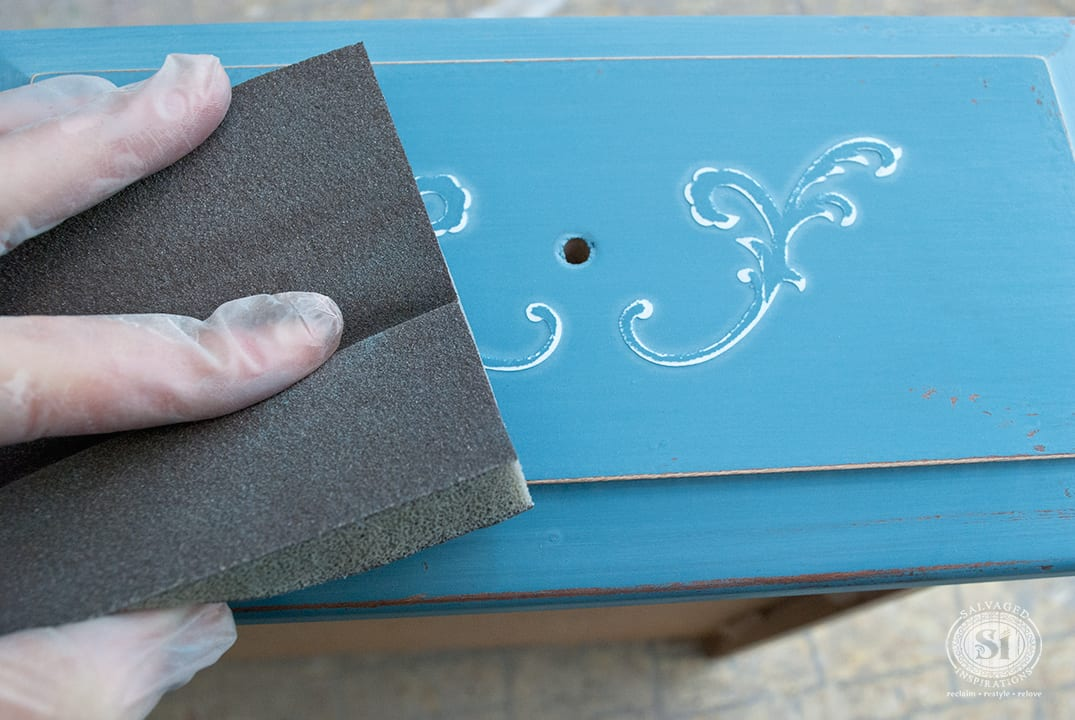 Sanding-Raised-Furniture-Stencil