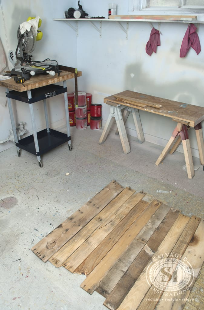 Dissembled Pallet Boards