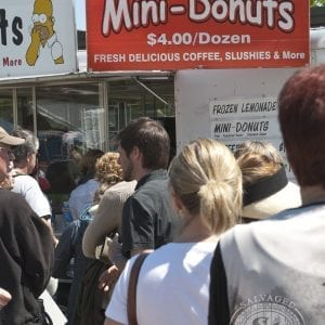 donuts - Christie Antique Show