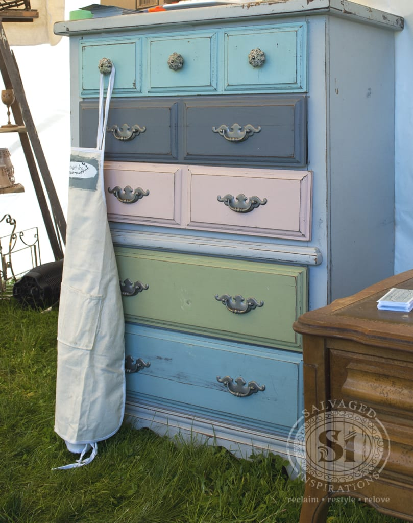 painted dresser - Bluestone Cottage Paints