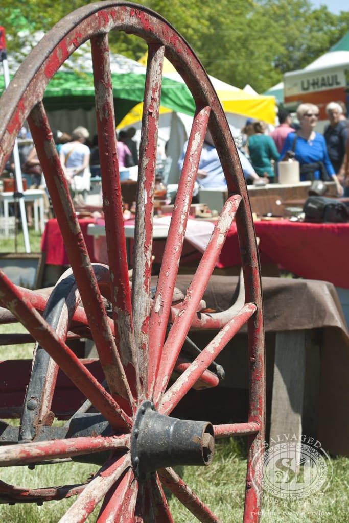 plow wheel - Christie Antique Show