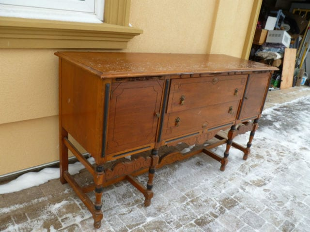 Antique Buffet1