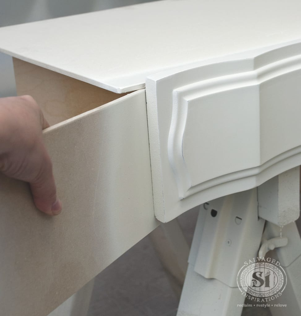 Prevent Overspray on Drawers