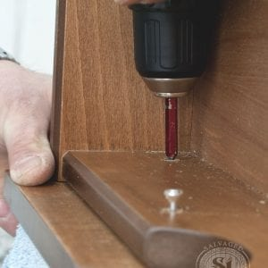 Hiding Visible Screws in Furniture