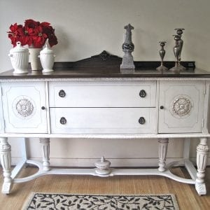 Stained&Painted Buffet - Porta Verde Studio