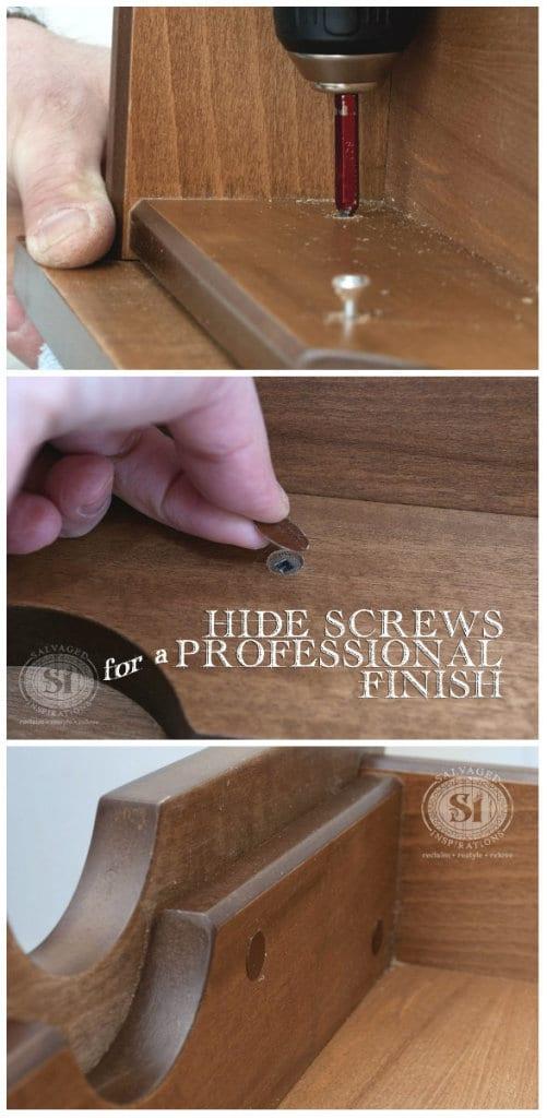 hide screws 4 professional finish