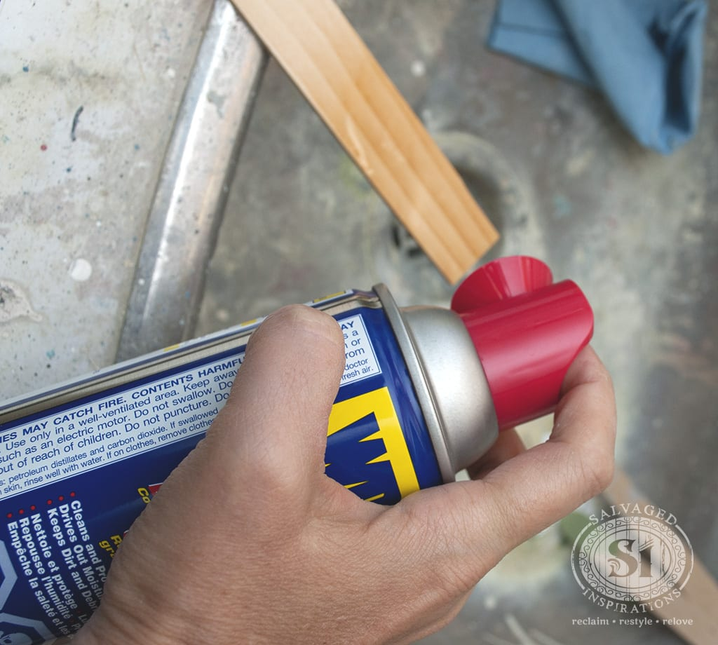 Wood Repair -WD-40 and Bondo