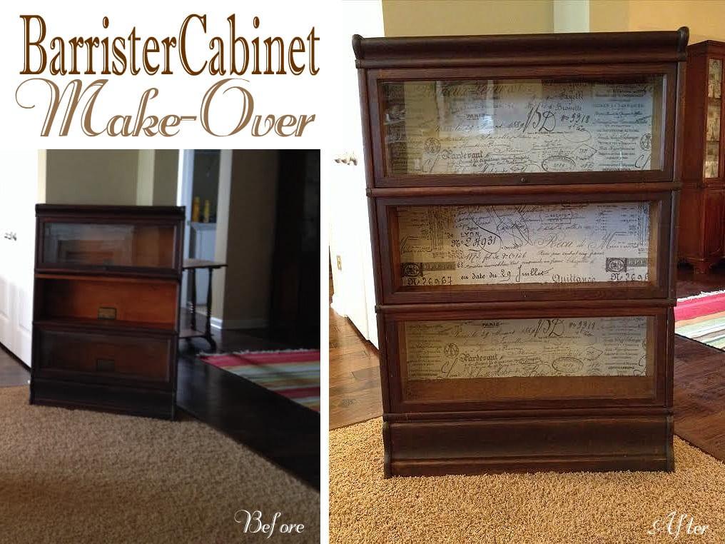 barrister cabinet make-over