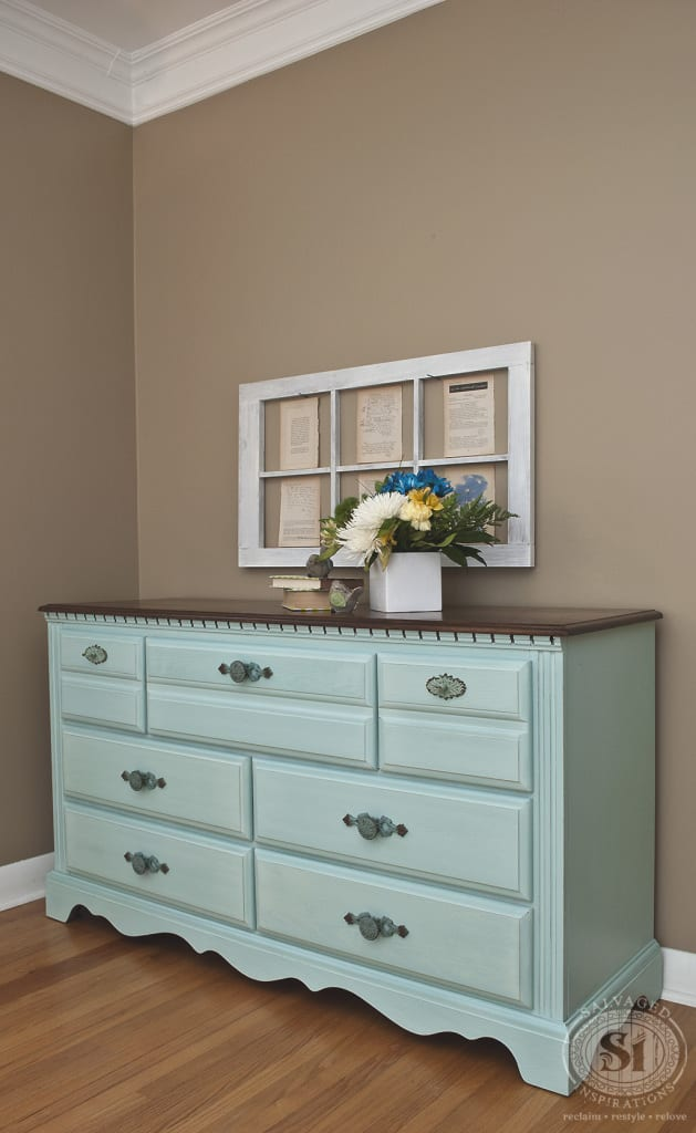 Eulalie's Sky MMS Painted Dresser