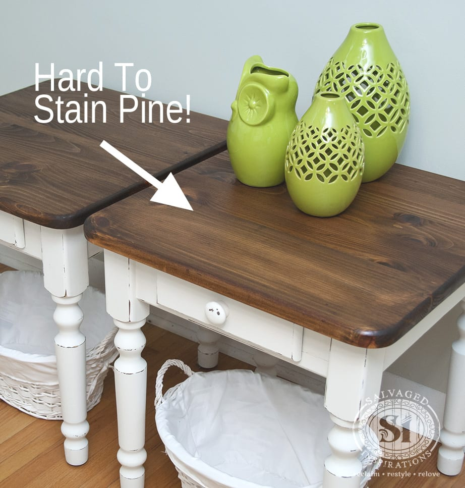 Hard To Stain Pine Wood