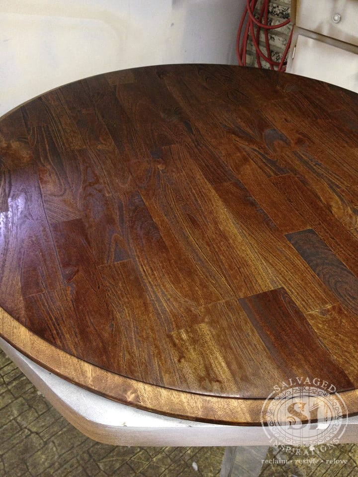 Stain not drying on table