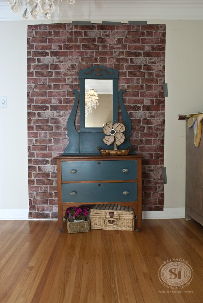 Staging Dresser for Photoshoot