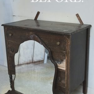Beauty in the Before - Vintage Dresser