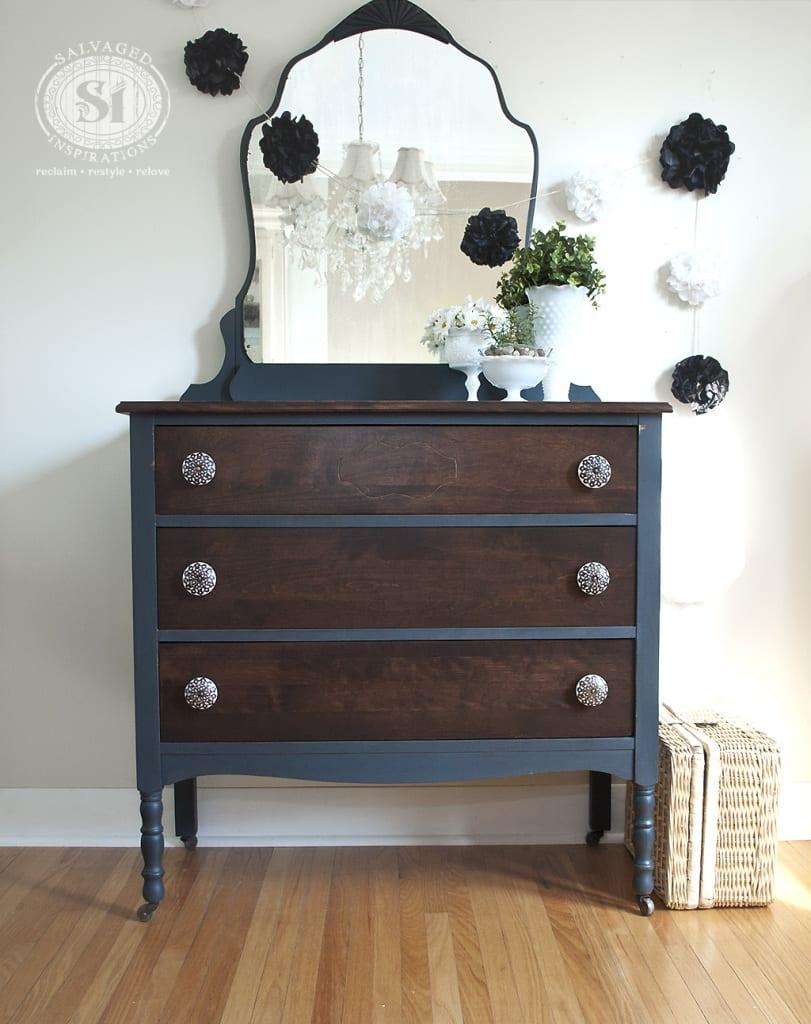 Bluestone Cottage Vintage Velvet Dresser