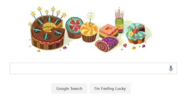 Google Birthday Capture