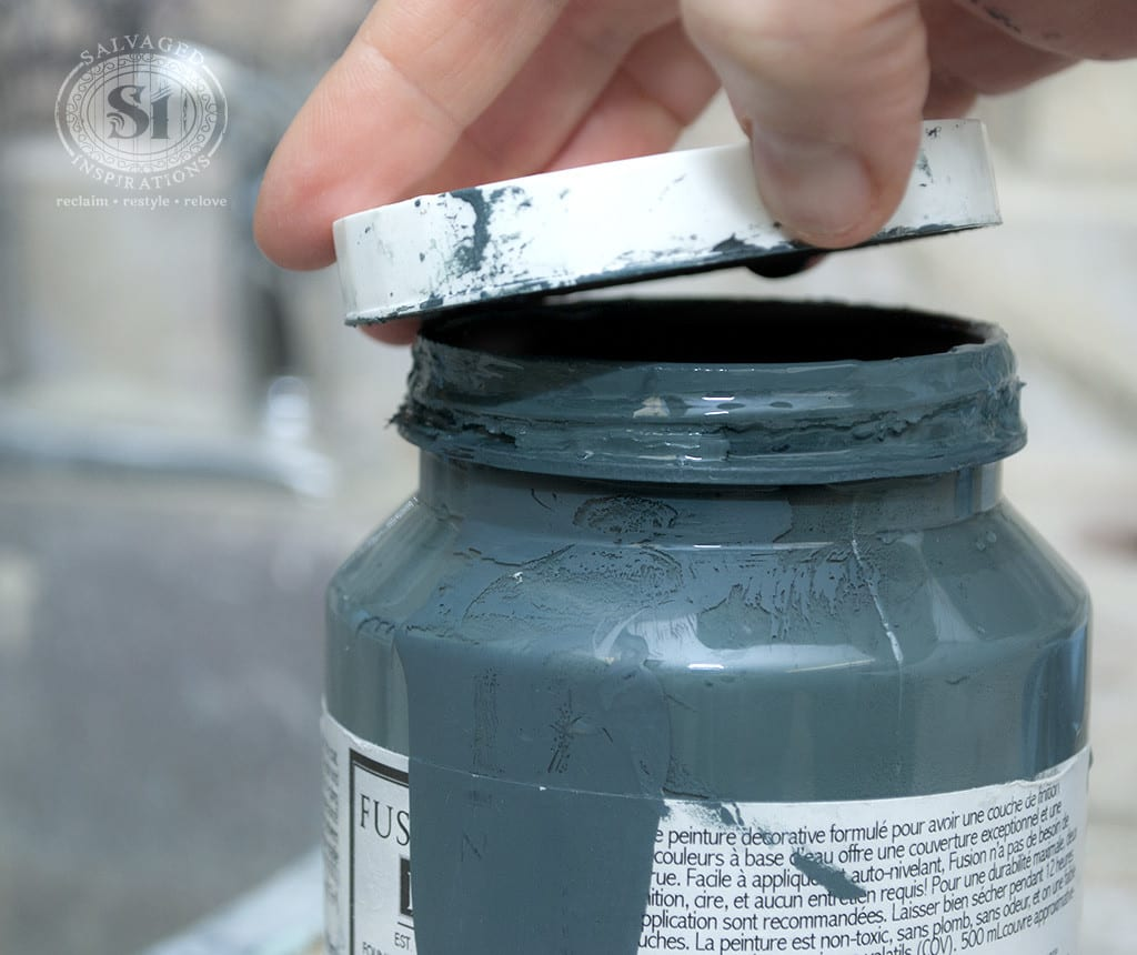 How To Open Plastic Stuck-On Paint Lids