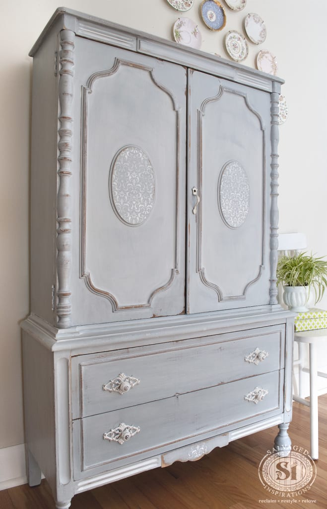 MilkPainted French Country Dresser