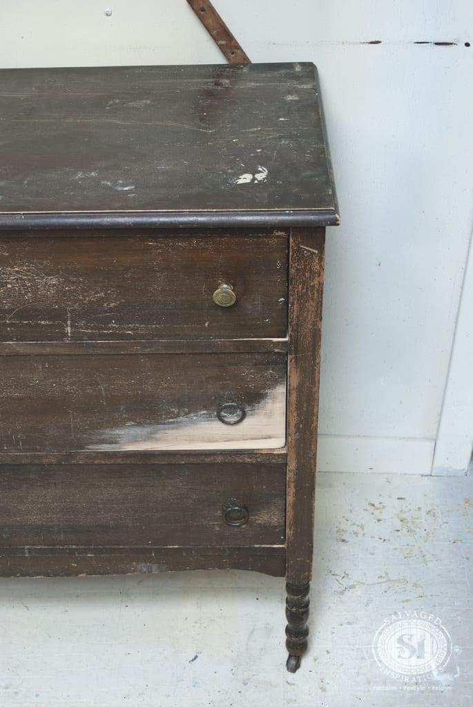 Vintage Dresser - Before