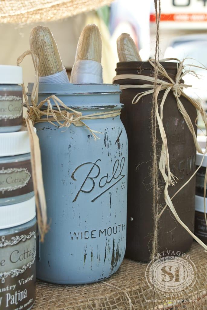 mason jar - Christie Antique Show