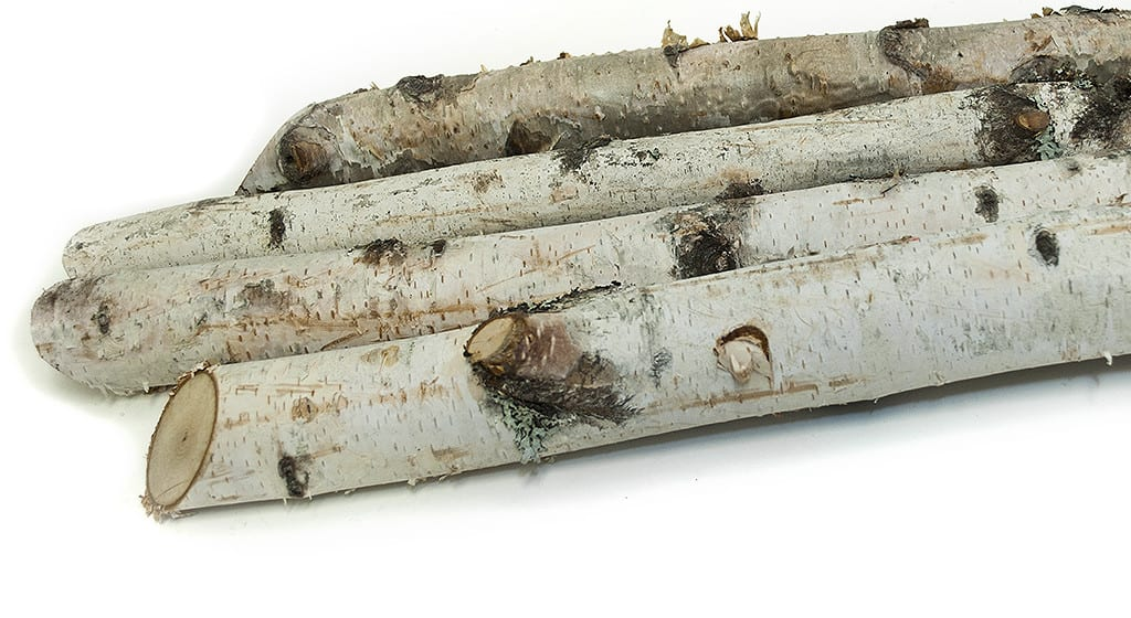 Birch Logs 4 Xmas Urns