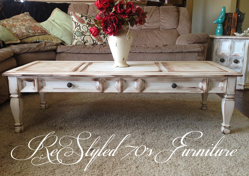 Jaana's Restyled Coffee Table
