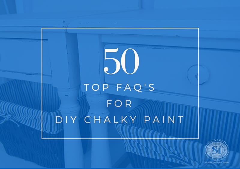 Top 50 FAQ for DIY Chalky Paints-1