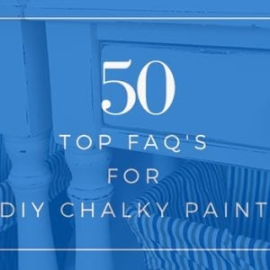 50 FAQ for DIY Chalky Paints - hdr