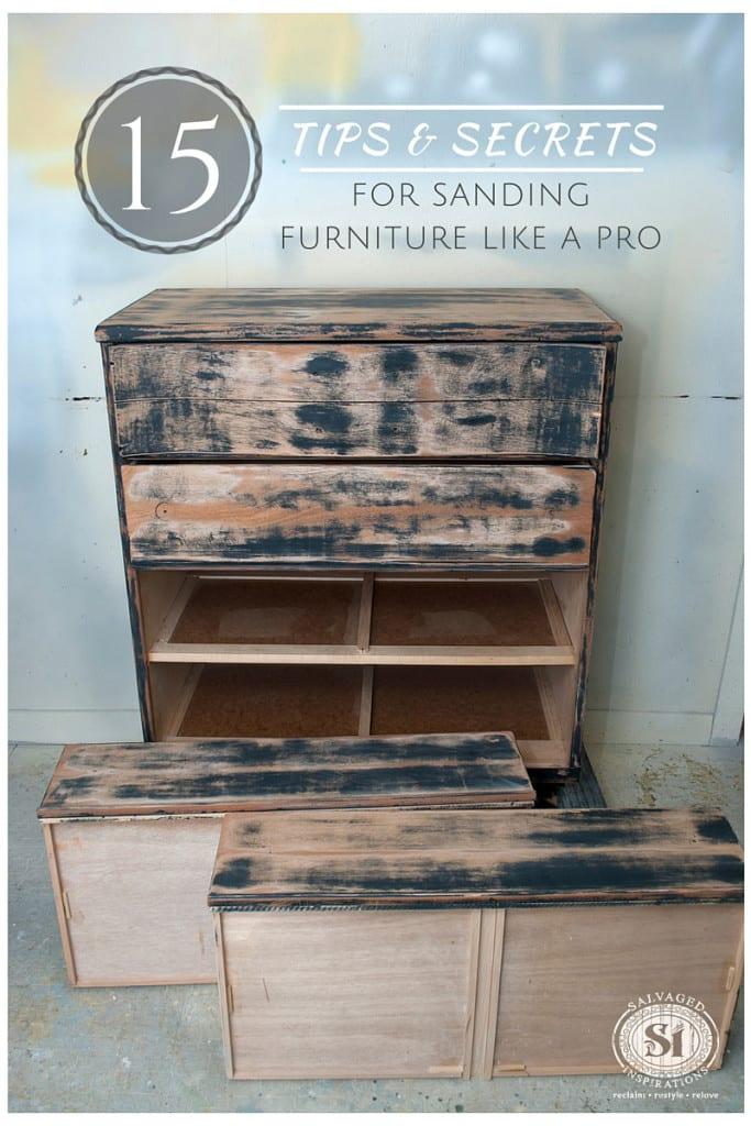 15 Tips&Secrets For Sanding Furniture Like A Pro