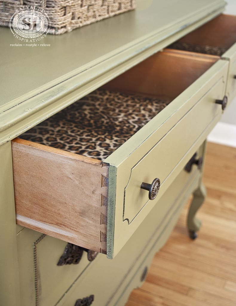 Dove Tailed Lined Dresser Drawers