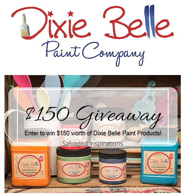Dixie Belle Giveaway w Salvaged Inspirations