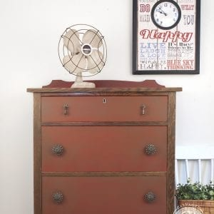 Farmhouse Chic - Red Barn Dixie Belle Painted Dresser