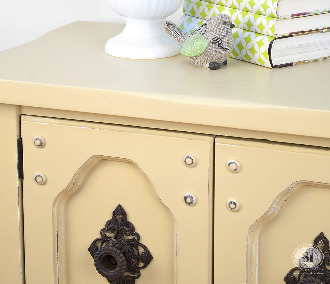 'Dijon' DIY Chalk Painted Side Table