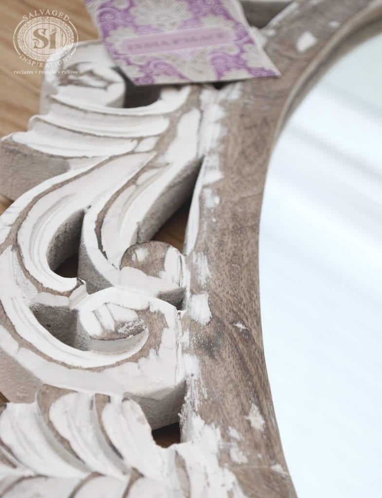Close Up Of HomeSense Mirror