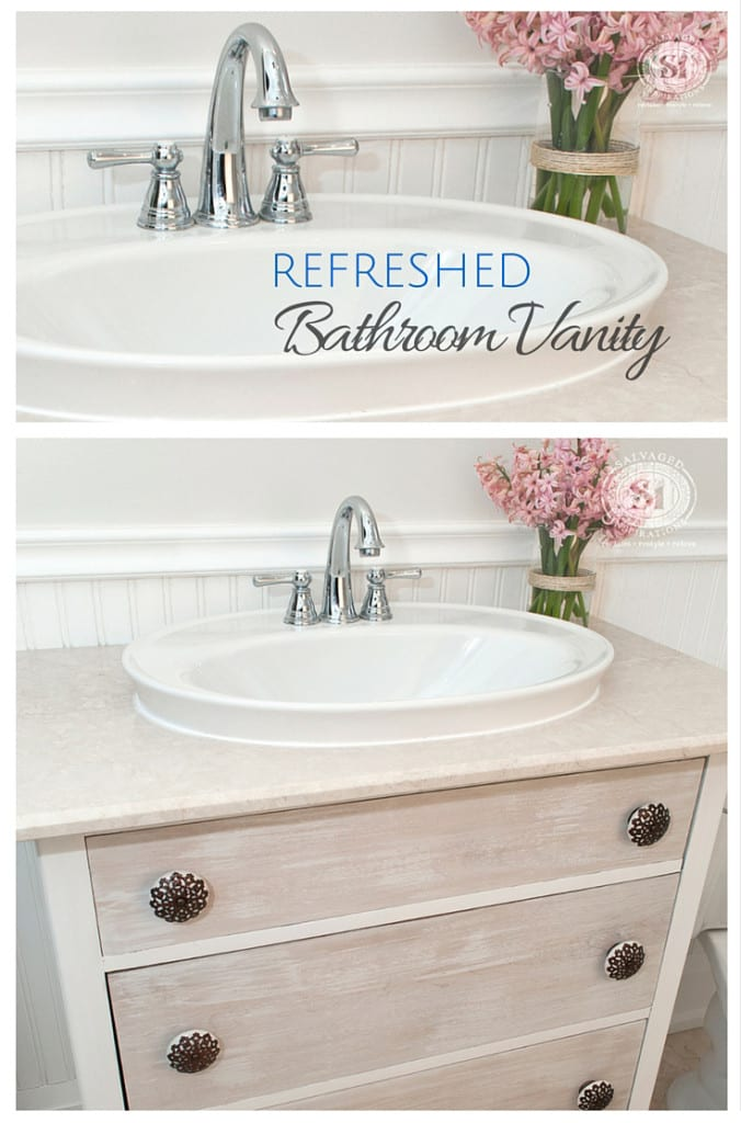 Refreshed Bathroom Vanity