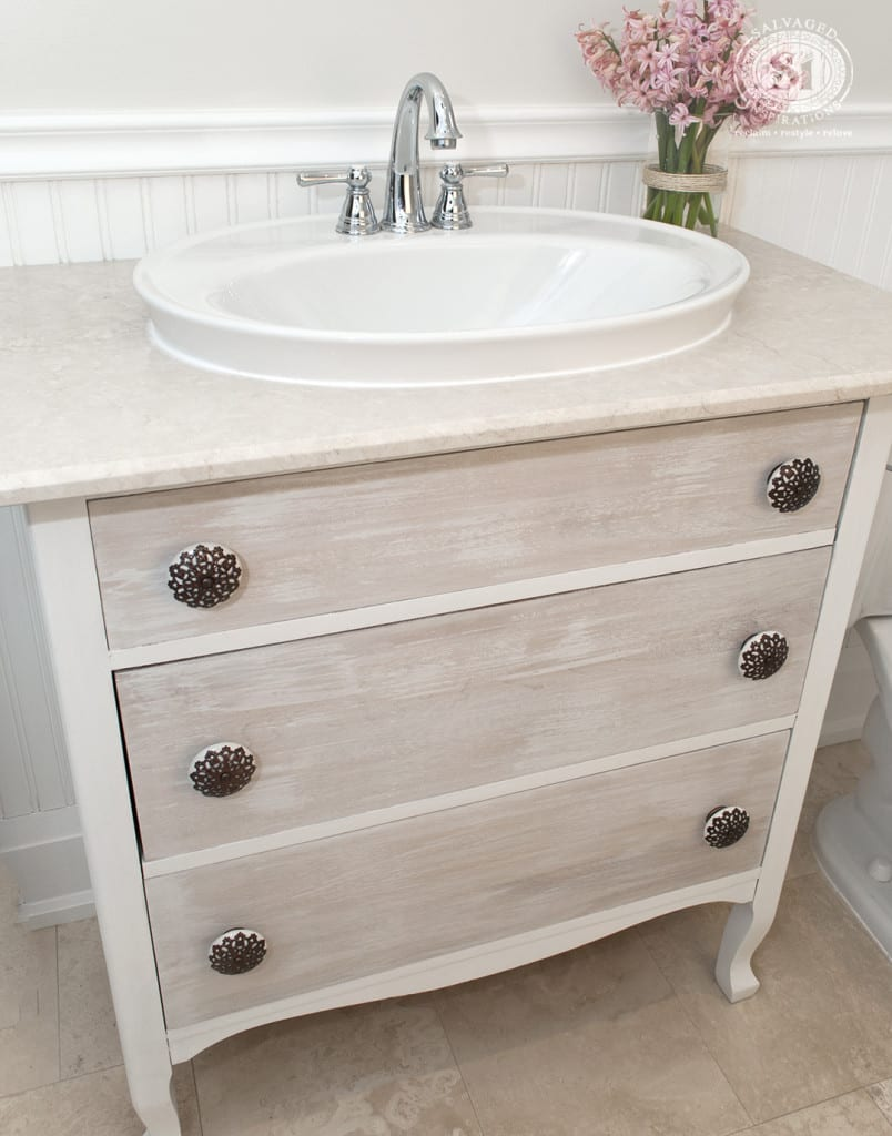 Refreshed Sink And Dresser Vanity 6