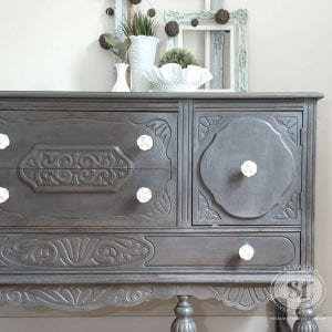 Driftwood GF Painted Buffet
